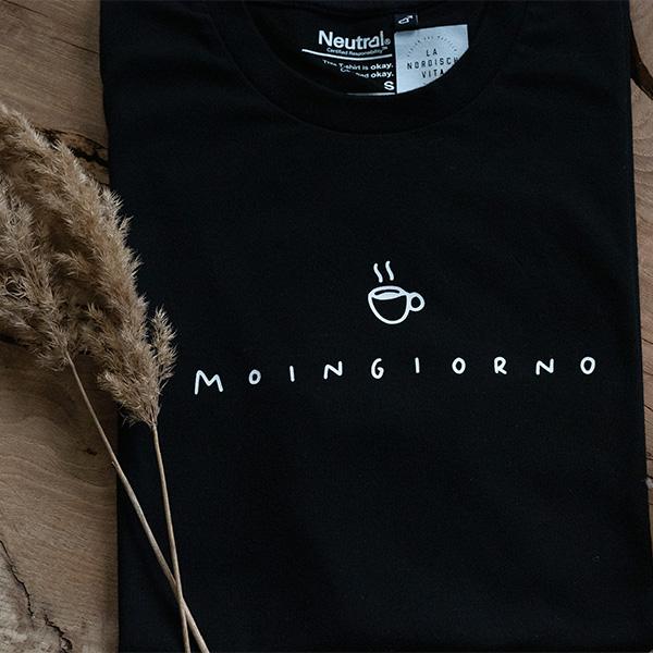 Shirt Moingiorno Kaffee schwarz