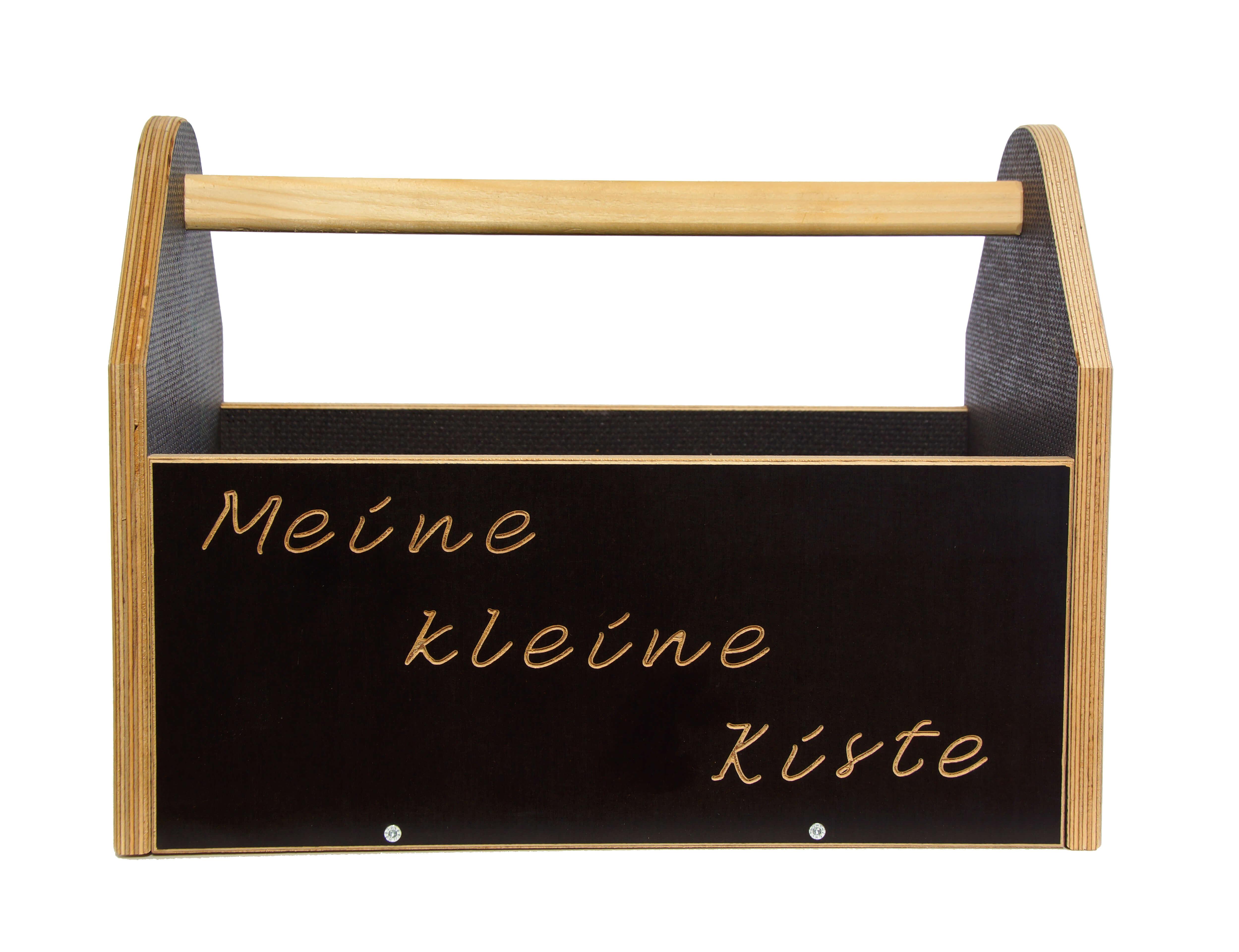 Meine kleine Kiste -braun-
